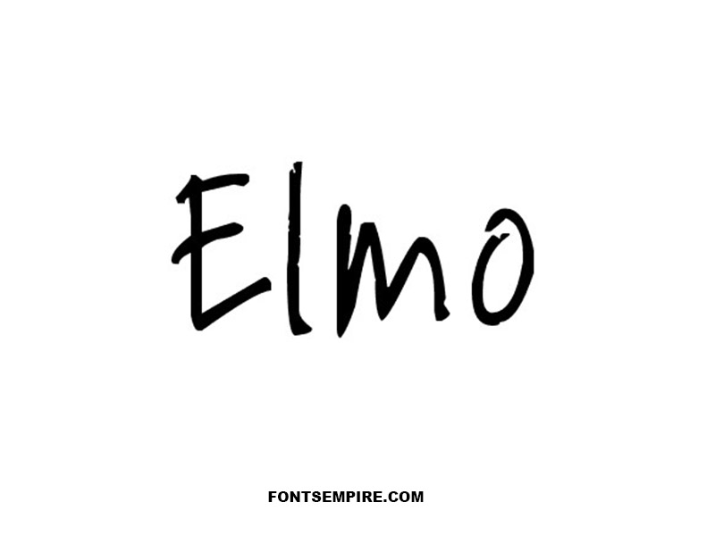 Elmo Font Family Free Download