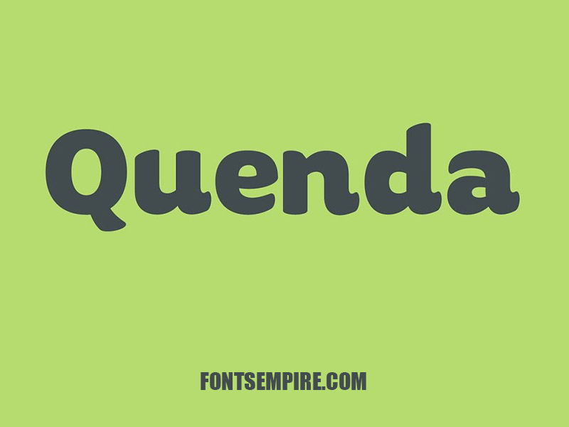 Quenda Font Family Free Download