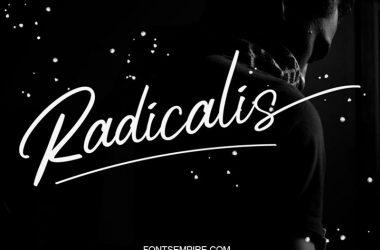 Radicalis Font Family Free Download