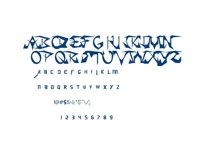 Soul Calibur Font Family Download
