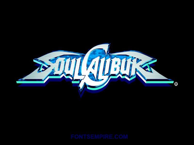 Soul Calibur Font Family Free Download