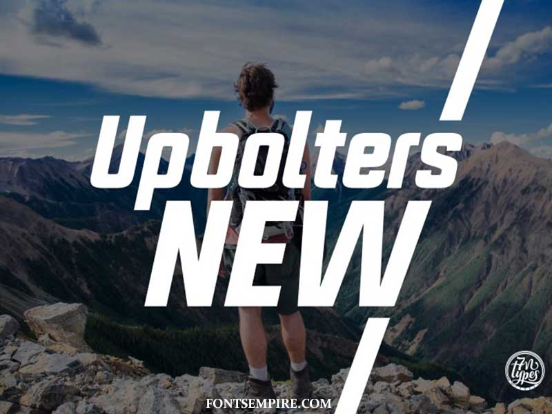 Upbolters Font Family Free Download