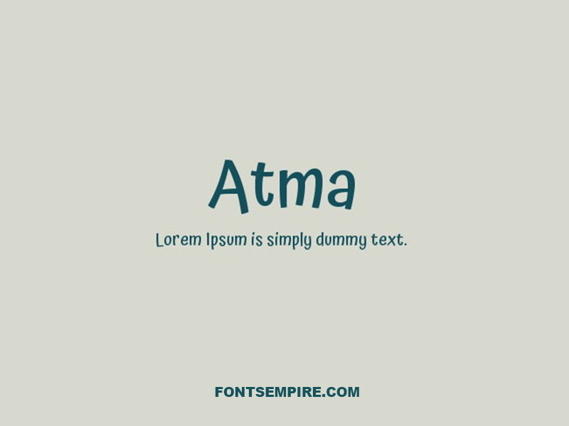 Atma Font Family Free Download