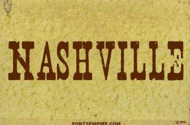 Nashville Font Family Free Download