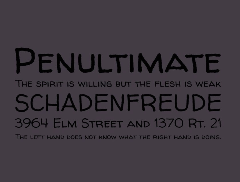 Walter Turncoat Font Family Download