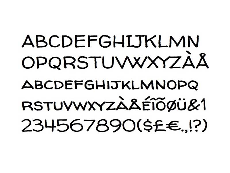 Walter Turncoat Font Free Download