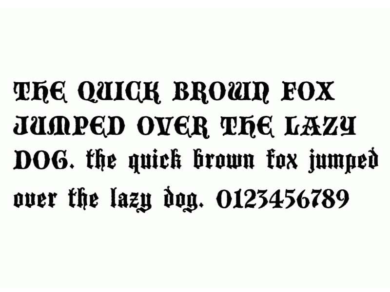 Blackwood Castle Font Free Download