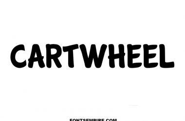 Cartwheel Font Family Free Download
