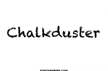 Chalkduster Font Family Free Download