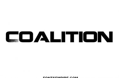 Coalition Font Family Free Download