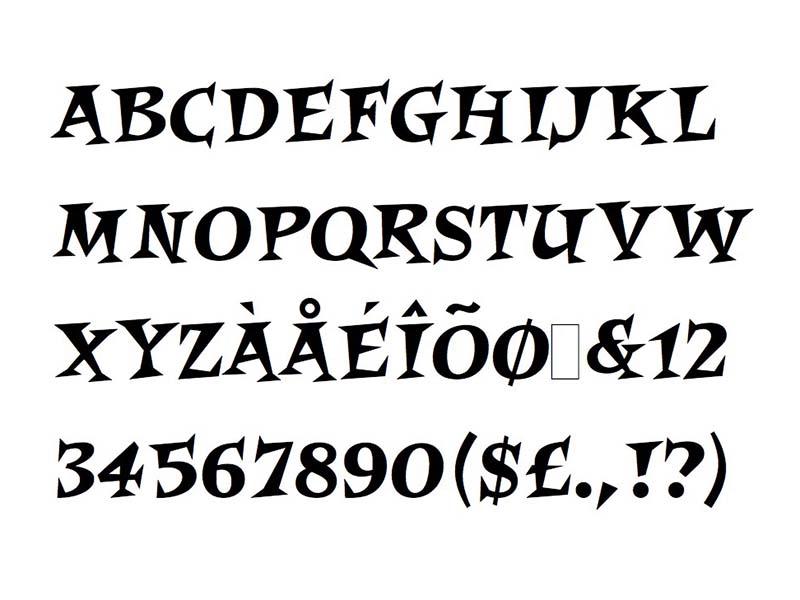 Crash Bandicoot Font Family Download