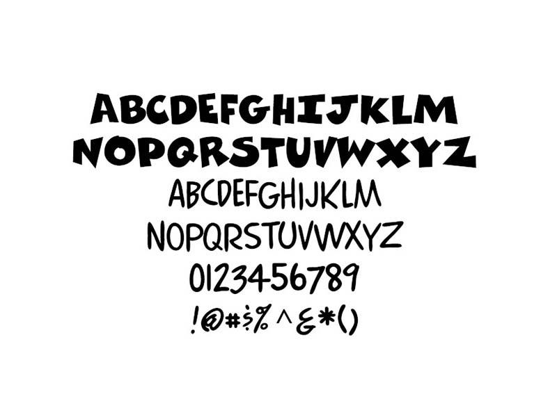 Crash Bandicoot Font Free Download