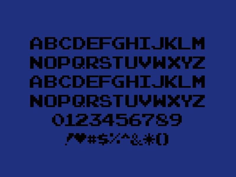 Joystix Font Free Download