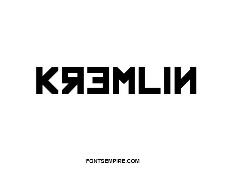 Kremlin Font Family Free Download