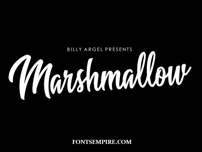 Marshmallow Font Family Free Download