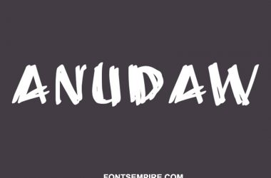 Anudaw Font Family Free Download