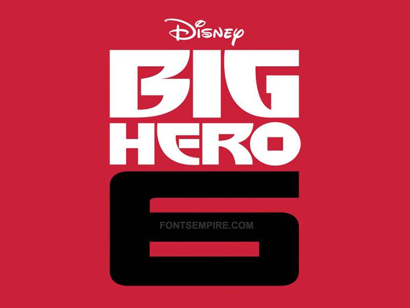 Big Hero 6 Font Family Free Download