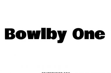 Bowlby One Font Family Free Download