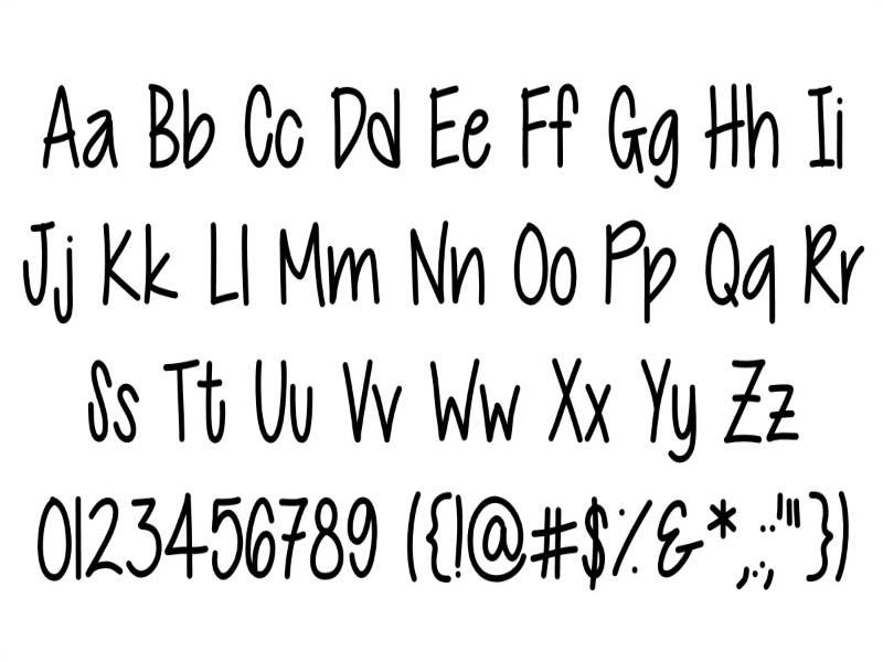 Cutie Patootie Font Free Download