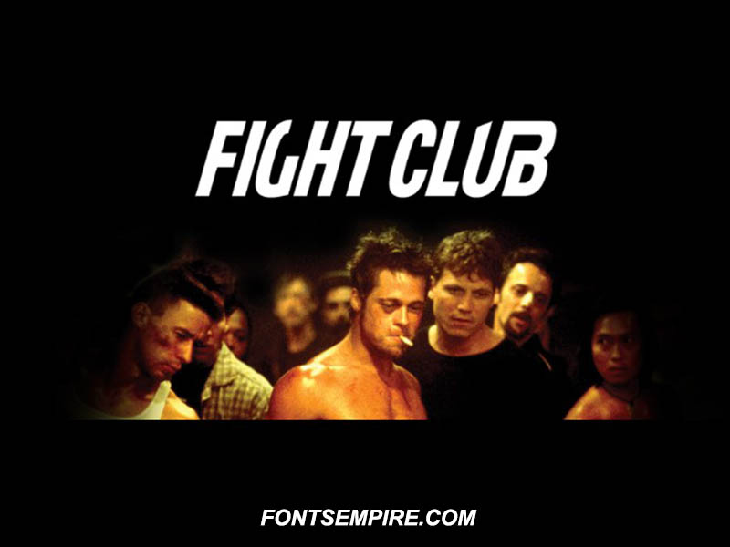 Fight Club Font Family Free Download
