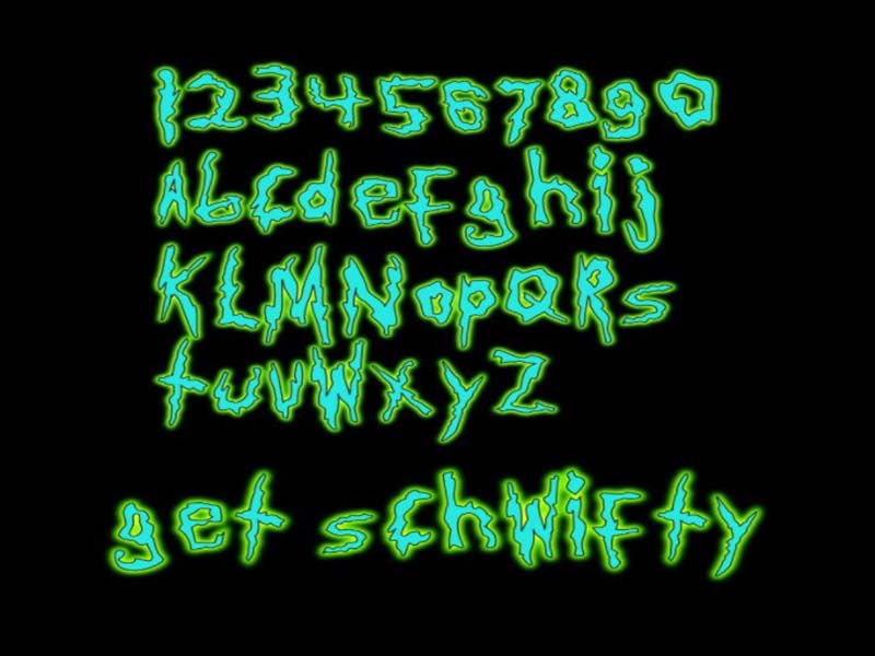Rick And Morty Font Family Download