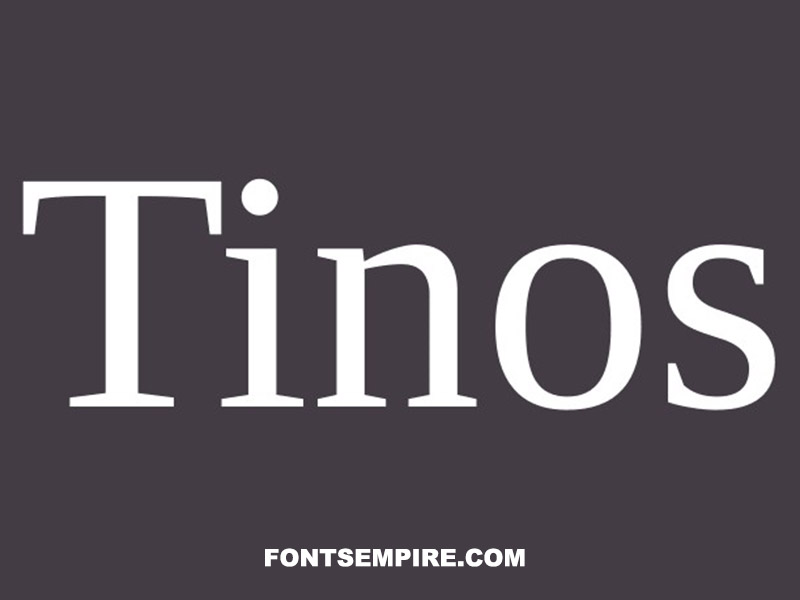 Tinos Font Family Free Download