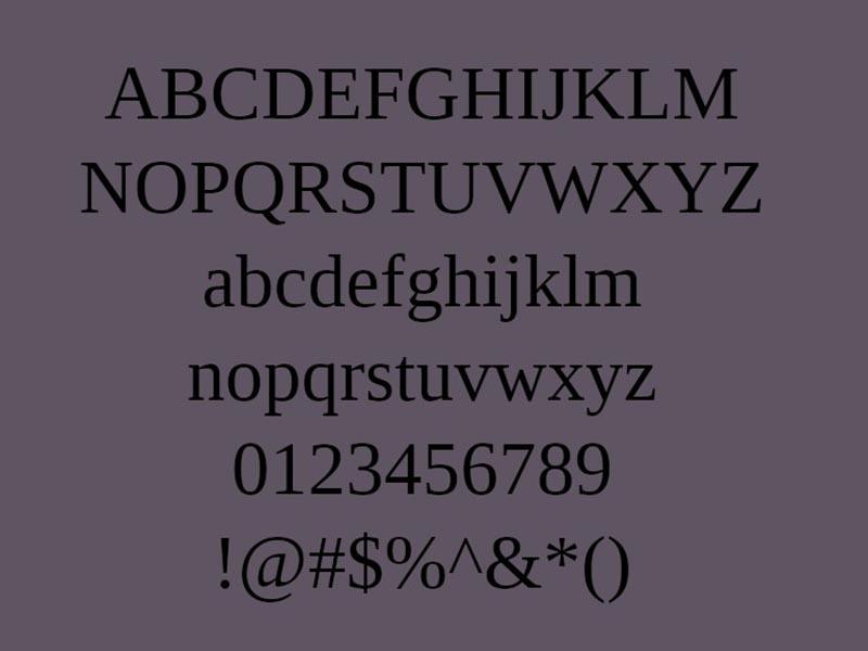 Tinos Font Free Download
