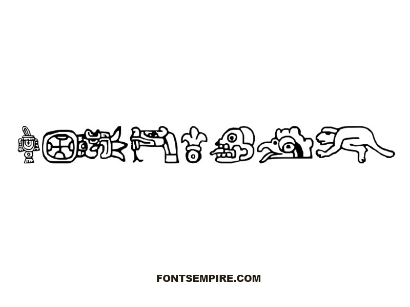 Aztec Font Family Free Download