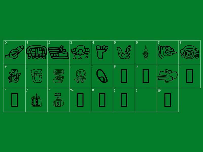Aztec Font Free Download
