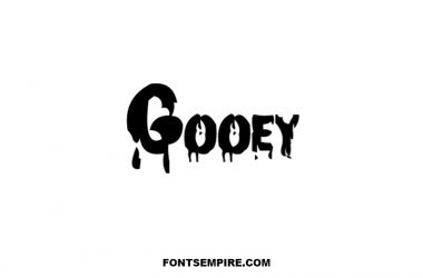 Gooey Font Family Free Download