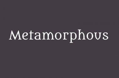 Metamorphous Font Family Free Download