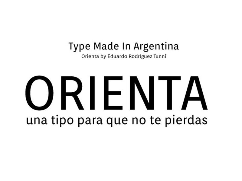 Orienta Font Family Download