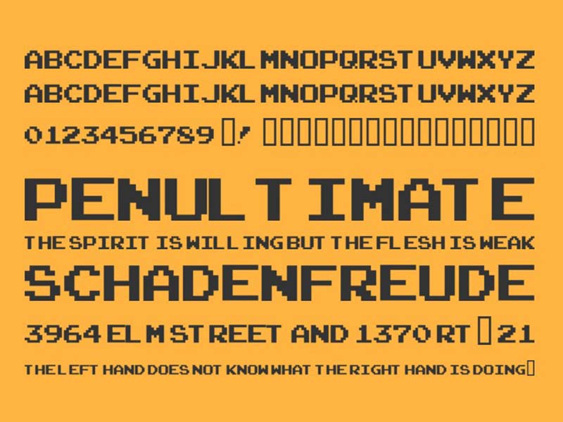 Arcade-Classic Font Family Download