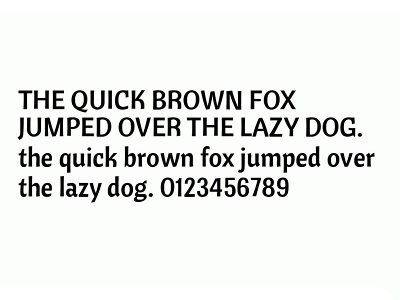 Cantora One Font Family Download