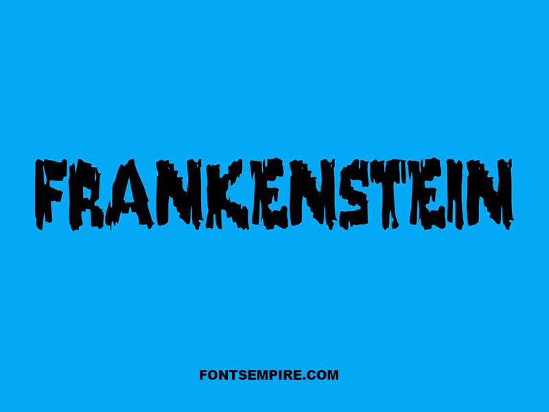 Frankenstein Font Family Free Download