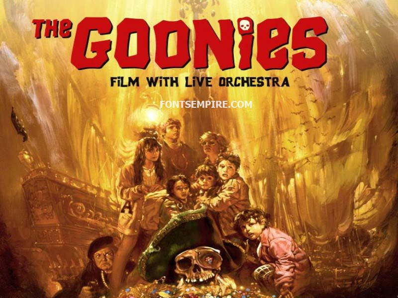 Goonies Font Family Free Download