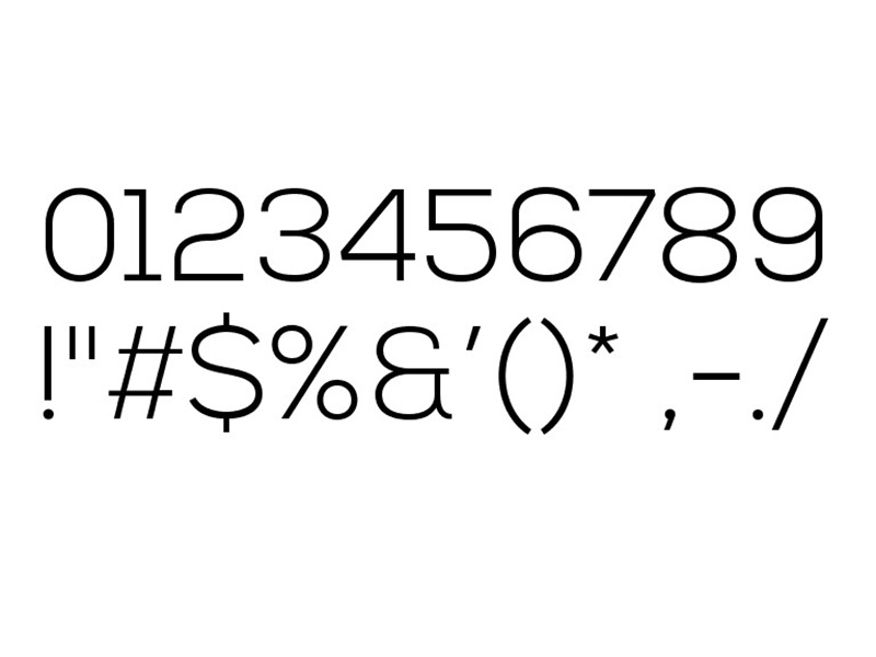 NexaLight Font Free Download