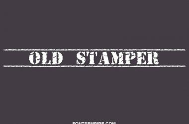 Old Stamper Font Family Free Download