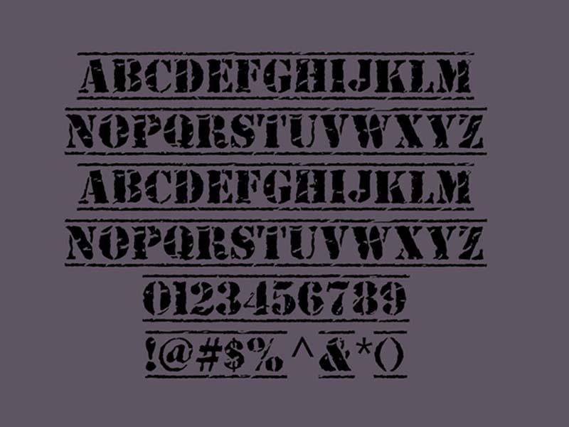Old Stamper Font Free Download