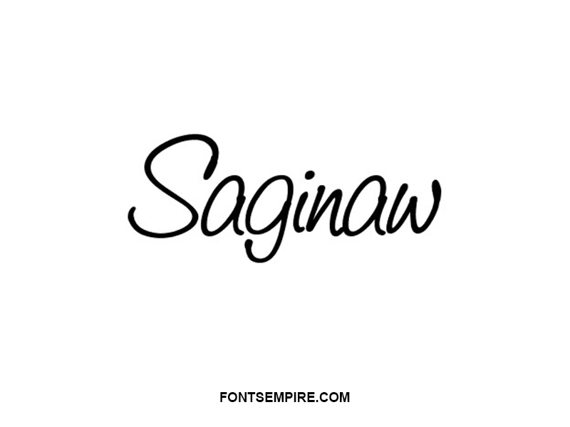 Saginaw Font Family Free Download