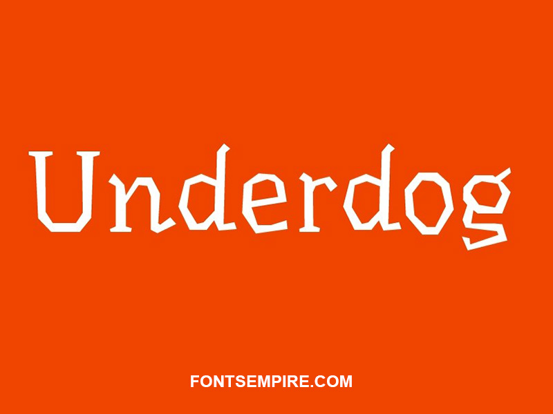 Underdog Font Family Free Download