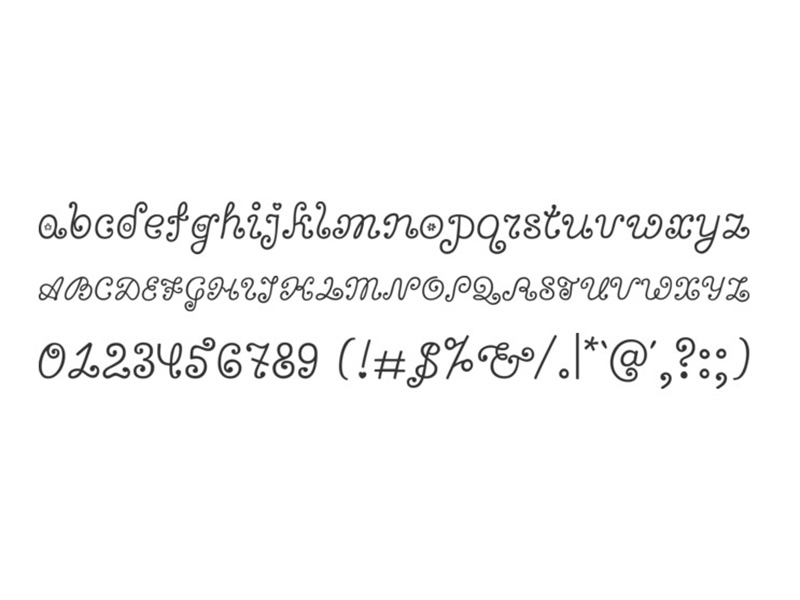 Bonbon Font Free Download