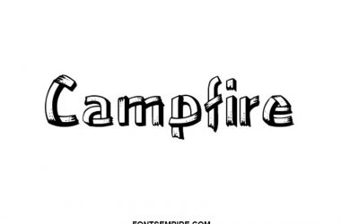 Campfire Font Family Free Download