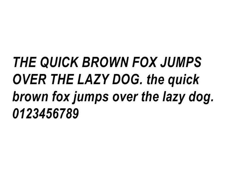 Jjba Font Free Download
