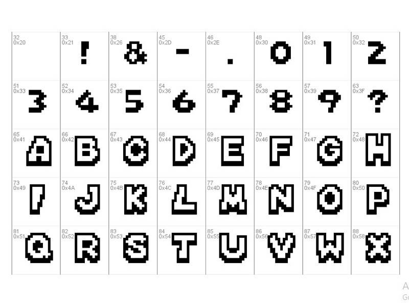 Mario Kart Ds Font Free Download