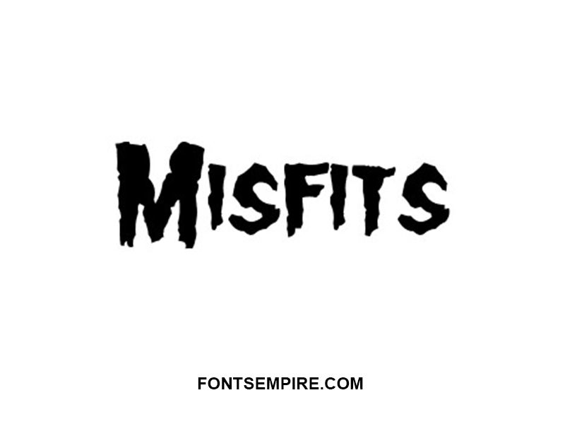 Misfits Font Family Free Download