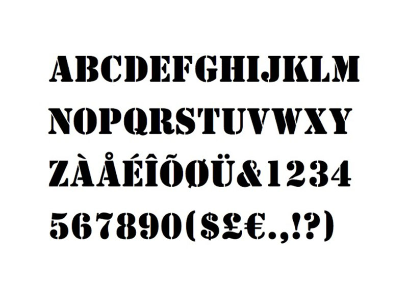 A Team Font Family Download