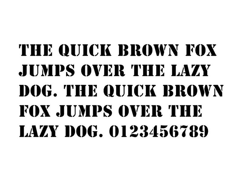 A Team Font Free Download