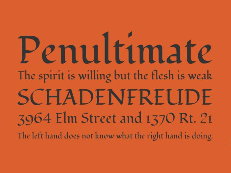 Fondamento Font Family Download