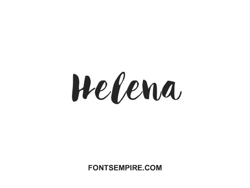 Helena Font Family Free Download